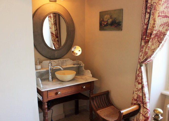 Au Fil de l'Aulne - Chambres d'hôtes de charme au coeur du Finistere - chambre 3 - Salle de bain